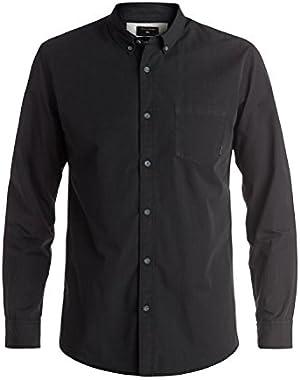 Men's Everyday Wilsden Long Sleeve Shirt and HDO Travel Sunscreen (15 SPF) Spray Bundle