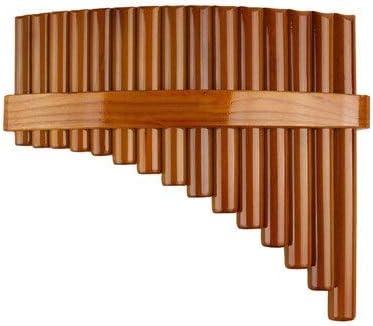 HDSHD 中国の伝統楽器15本のパイプパンフルートCキー高品質のパンパイプ木管楽器竹パンフルート (色 : Left)
