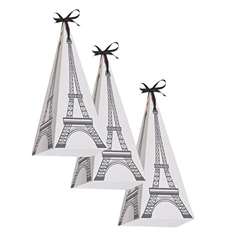 Creative Converting Party in Paris Treat Bag 24pk