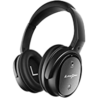 Noise Cancelling Headphones LiteXim QW-07 Bluetooth Headset with Microphone, Wireless&Wired Bluetooth Wireless Earphones Over Ear, CSR with apt-X, Comfortable Protein Earpads for Travel, Work, Game