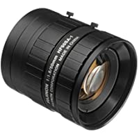 Fujinon HF50SA-1 2/3 50mm F1.8-F22 Fixed Focal Lens for 5MP Cameras, C-Mount, Manual Iris, Industrial and Machine Vision Applications