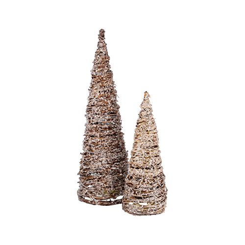 ELK Lighting Artisan Trees Sculptures - Set of - Grapevine Stores Outlet