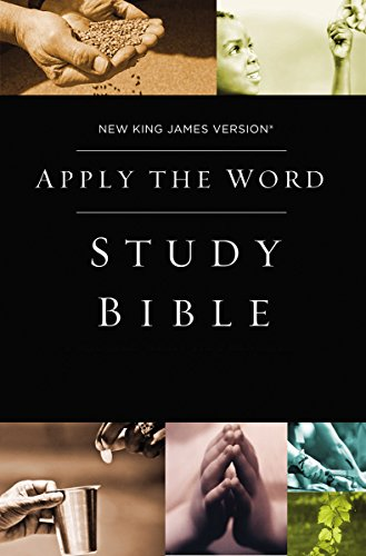 NKJV, Apply the Word Study Bible, Hardcover, Red Letter Edition: Live in His - Map America Of Mall Location