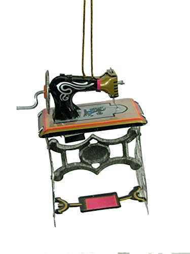 sewing machine christmas ornament - 6