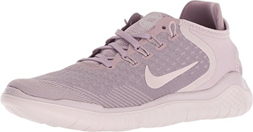 Nike Women's Free RN 2018 Running Shoe (6.5 B(M) US, Elemental Rose/Gunsmoke-Particle Rose)