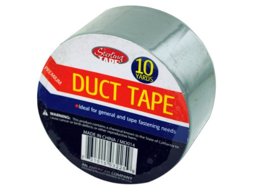 Bulk Buys MO014-50 10 Yard Roll Duct Tape - Pack of 50 ()