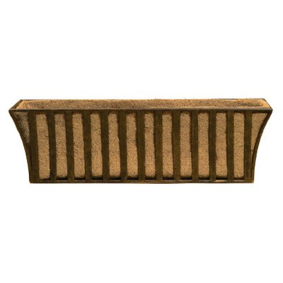 Deer Park WB124 Small Solera Window Box with Cocoa Moss (Patina Moss Finish)