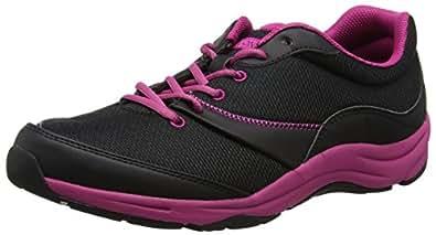 Vionic Kona Womens Orthotic Athletic Shoe Black/Fuchsia - 5 Medium