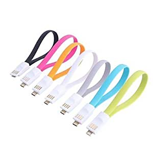 Mini USB to Micro USB Data Charging Cable for Samsung I9000/I9100/9300 (23cm-Cable) , Gray