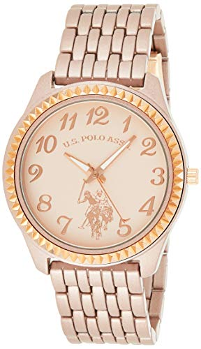 U.S. Polo Assn. Women's Quartz Metal and Alloy Watch, Color:Rose Gold-Toned (Model: USC40099)