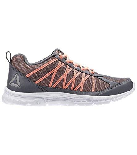 Reebok Speedlux 2.0, Zapatillas de Running para Mujer Gris (Alloy / Sour Mellon / White / Pewter)