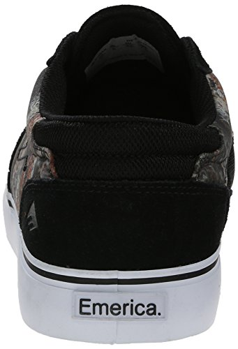 EMERICA Skateboard Shoes THE PROVOST Black/Print Bud Hunter