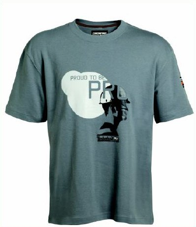 Timberland Pro 336 T-Shirt, Farbe: dirty grey, Gr. XXL