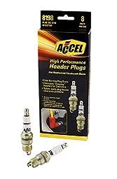 ACCEL 8198 Performance U-Groove Header Spark Plug - Pack of 8