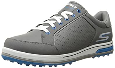 Skechers Performance Men's Go Golf Drive 2 Golf Shoe,Charcoal/Blue,7 M US