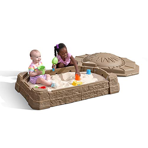 (Step2 Naturally Playful Sandbox II with Bonus Sand Tools)