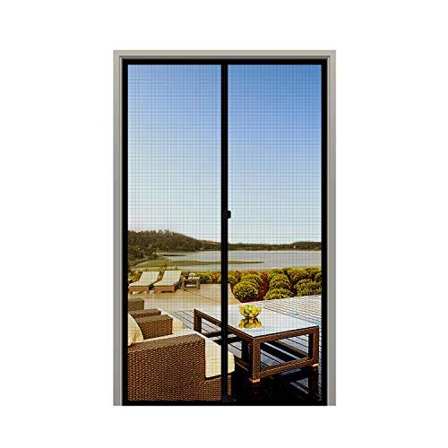 - MAGZO Screen Door Magnets 38 x 82, Durable Fiberglass Door Mesh with Full Frame Hook&Loop for Entry Door Fits Door Size up to 38