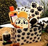 Paw Prints Doggie Care Package Gourmet Gift Basket
