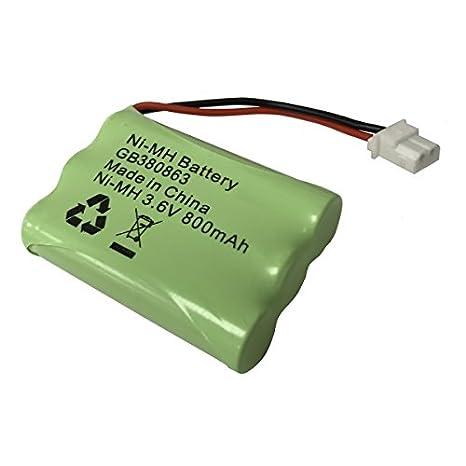 Motorola MBP18 Video Baby Monitor Recargable Batería Pack 900mAh 3.6v NiMH