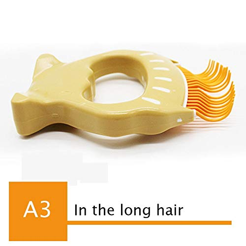 A3 In The Long Hair As PictureYUEPET Dog Open Smooth Pet Hair Removal Comb Grooming Comb Brush Pet Massage Cepillo Perro Purifying Toilettage Animal Products 60Z1186 A3 In The Long Hair