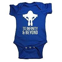 """Toy Story One Piece Buzz Lightyear """"To Infinity & Beyond"""" Baby Bodysuit (18 M..."""