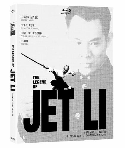 Legend of Jet Li 4 Film 4 Film Collection (Black Mask/Fearless/Fist of Legend/Hero)(Blu-ray)