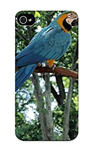 meilinF000Fashion Tpu Case For iphone 6 4.7 inch- Animal Blue And Yellow Macaw Defender Case Cover For LoversmeilinF000