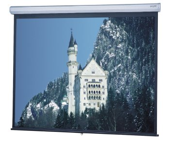Model C Matte White Manual Projection Screen Viewing Area: 87