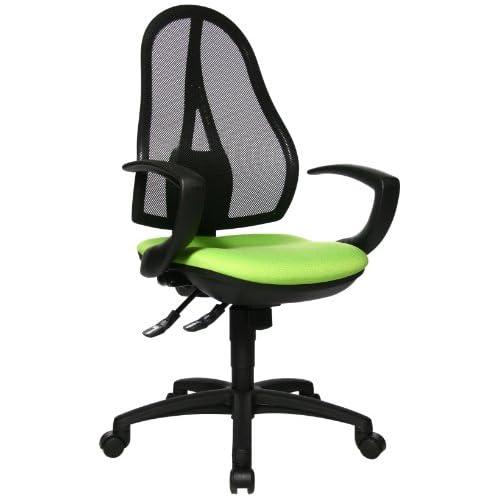 chollos oferta descuentos barato Topstar Open Point SY OP20QG05 Silla de Oficina Incluye reposabrazos Fijo Color Verde