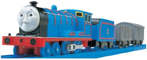 Blue Edward The Engine (Plarail - THOMAS & FRIENDS: TS-02 Plarail Edward (Model Train))