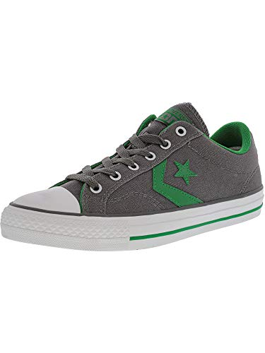 (Converse Star Player Ox, Unisex-Adult Hi-Top Sneakers, Grey (Gris/Vert), 7 UK, 40)