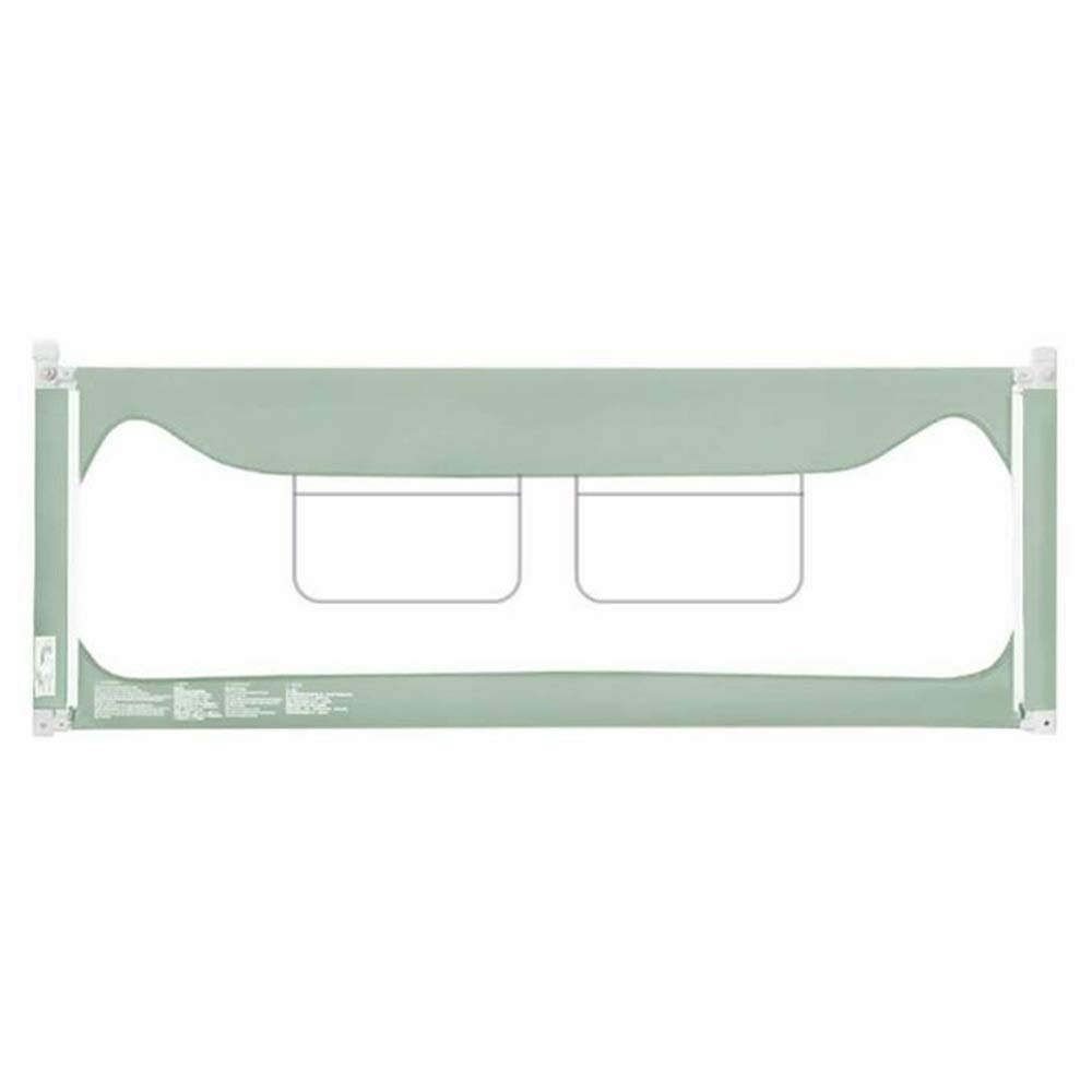 GXYAWPJ ベッドレール、縦型リフト安全フェンスキングサイズベッド、ポータブルおよび折りたたみ式フェンス、グリーン(サイズ:180-220 Cm) (色 : 緑, サイズ さいず : 1.8m) 1.8m 緑 B07J5VDF9M