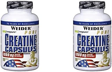 (2er BUNDLE) | Pure Creatine | 100 capsule - Weider Nutrition