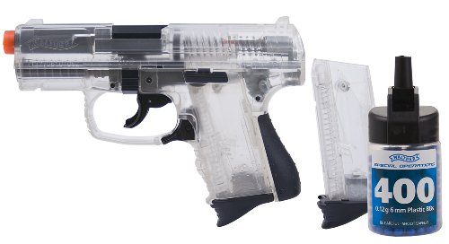 Walther P99 Compact-6mm Airsoft- Clear (Umarex By P99 Walther)