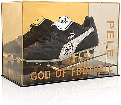 Desconocido Pele Barazil Puma - Estuche acrílico, diseño de Dios de fútbol: Amazon.es: Deportes y aire libre