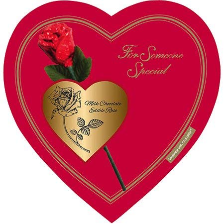 Elmer Chocolate Valentine's Day Rose Heart Gift