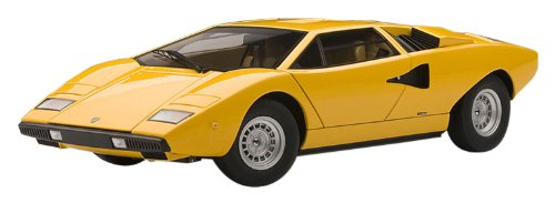 AUTOart 1/18 ランボルギーニ カウンタック LP400 (イエロー) 完成品 B00CSETZCA