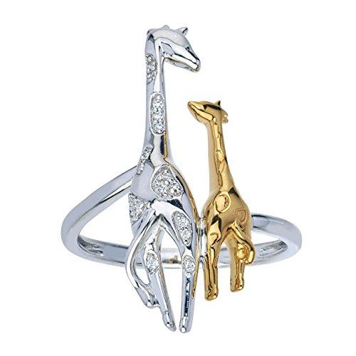 Giraffe Couple Ring