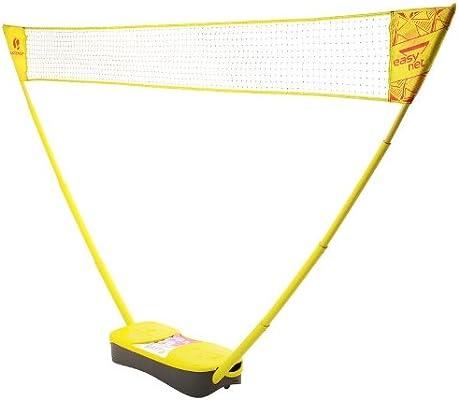 Artengo Easy Badminton Net Set Yellow Amazon Co Uk Sports Outdoors