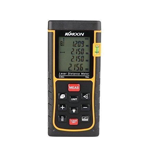18 opinioni per KKmoon RZE-70 70m/229ft Laser Misuratore Digitale di Distanza Distance Meter