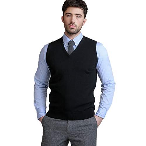 4121S4lRrQL. SS500  - BASE 41 Men's Sleeveless Reversible Sweater