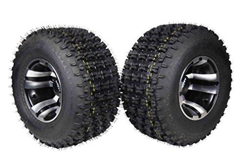 (Yamaha Banshee 350 (1987-2006) & Raptor 700 (2006-Present) Rear 20x10-9 MASSFX Tire W Machined MASSFX 9x8 4/115 Rim 2 PACK)