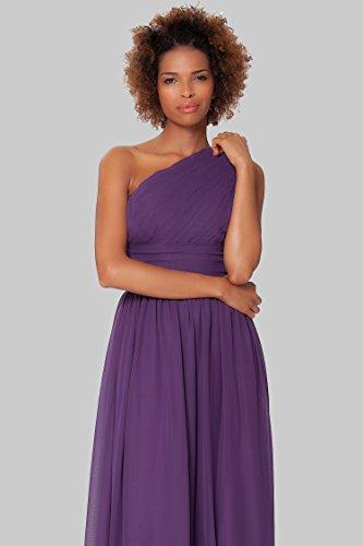de vestido de cuerpo P¨²rpura del noche SEXYHER formal honor Gorgeous Encuadre Uno EDJ1577 damas de hombro entero qn0xEPxwa