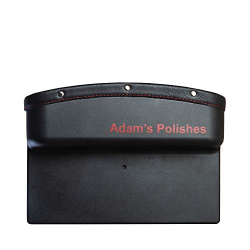 Adam's Seat Gap Pocket - Improve The Look of Interior Car Accessories with PU Leather Car Console Side Organizer Seat Gap Filler