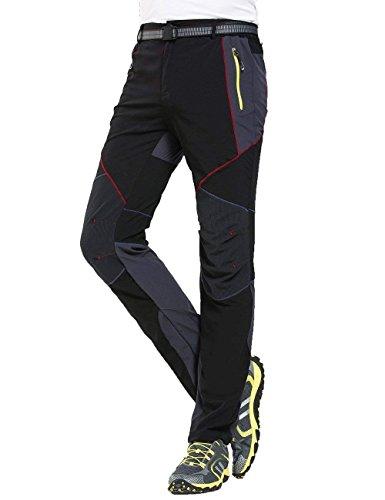 Pantalon Été Femmes Style Air Noir Imperméable Léger Bobolily Printemps Sport Loisirs Randonnée Rapide Séchage En De Plein T5dxn4q