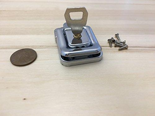 2-pieces-lock-key-silver-j402-nickle-cigar-wood-box-case-latch-clasp-c21