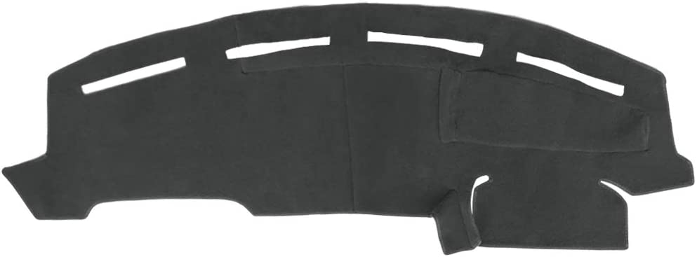 AKMOTOR Dash Cover Dashboard Cover Pad Mat Custom Fit for Ford F250 F350 F450 1999-2004(Black) Y72