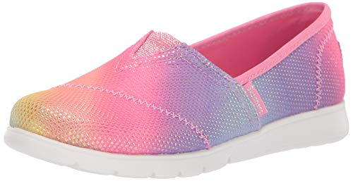 (Skechers Kids Girls' Pureflex-Sparkle Joy Sneaker, Multi, 13.5 Medium US Little Kid)