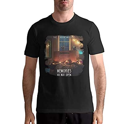 AlvaLynd The Chainsmokers Mens Tshirts Mans Blouse Black