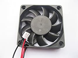 Brushless DC Cooling Fan 12V 6015S 9 Blades 2 wire 60x60x15mm Sleeve-bearing
